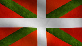 Basque country flag stock video