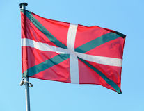 Basque country flag Royalty Free Stock Photos