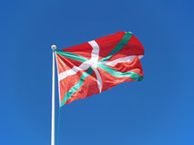 Basque Country Flag, Ikurriña Royalty Free Stock Images