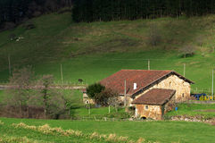 Basque country house Royalty Free Stock Photo