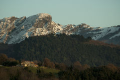 Basque Country Mountains Royalty Free Stock Photography