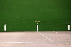 Basque Country pelota court. A tipycal Basque Country pelota court Royalty Free Stock Image