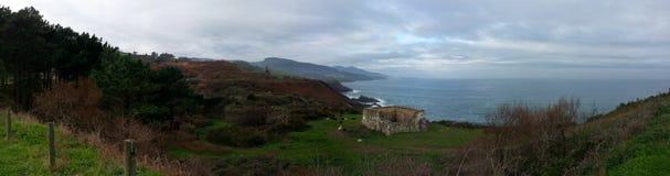 Basque country seaside Stock Photos