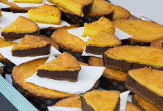 Basque da torta Fotografia de Stock Royalty Free