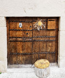 Basque door Royalty Free Stock Photo