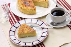 Basque fait maison de gâteau Image libre de droits
