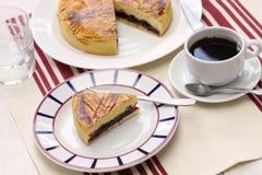 Basque fait maison de gâteau Photo libre de droits