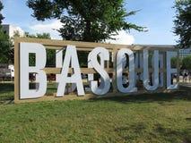 Basque Festival Sign Royalty Free Stock Photos