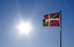 Basque flag. Stock Image