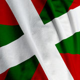 Basque Flag Closeup Royalty Free Stock Photos