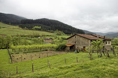 Basque house Stock Photo