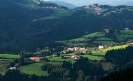 basque landsdal Arkivbilder