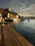 basque landsfiskeläge Royaltyfria Bilder