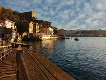 basque landsfiskeläge Arkivfoton