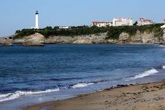 Basque sea stock image