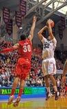 Basquetebol 2012 do NCAA - ligação em ponte Imagens de Stock Royalty Free