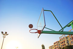 Basquetebol Fotografia de Stock
