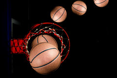 Basquetebol Imagens de Stock Royalty Free