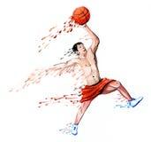 Basquetebol Imagem de Stock