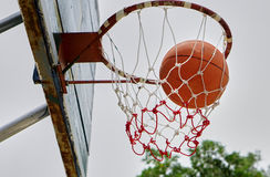 Basquetebol Foto de Stock Royalty Free