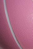 Basquetebol cor-de-rosa Foto de Stock Royalty Free