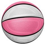 Basquetebol cor-de-rosa Fotos de Stock