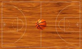 Basquetebol court Imagem de Stock