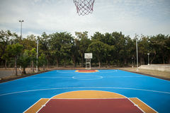 Basquetebol court Foto de Stock