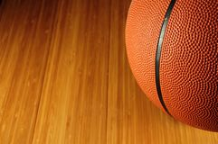 Basquetebol da esfera Fotos de Stock