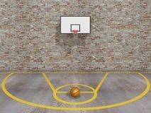 Basquetebol da rua Imagem de Stock