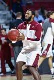 2014 basquetebol do NCAA - ação do jogo do templo de Towson @ Foto de Stock Royalty Free