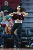 2014 basquetebol do NCAA - ação do jogo do templo de Towson @ Foto de Stock