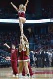 2016 basquetebol do NCAA - Cincinnati no templo Imagens de Stock