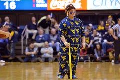 2015 basquetebol do NCAA - estado de WVU-Oklahoma Imagens de Stock