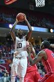 2014 basquetebol do NCAA - 5 grandes Foto de Stock Royalty Free