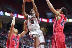 2014 basquetebol do NCAA - 5 grandes Foto de Stock