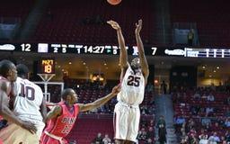 2014 basquetebol do NCAA - 5 grandes Imagens de Stock Royalty Free