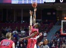 2014 basquetebol do NCAA - 5 grandes Imagem de Stock Royalty Free