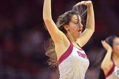 2014 basquetebol do NCAA - Kansas no templo Fotos de Stock Royalty Free