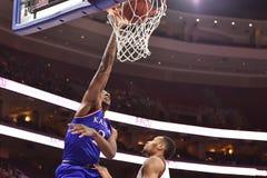 2014 basquetebol do NCAA - Kansas no templo Imagem de Stock