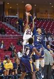 2014 basquetebol do NCAA - o basquetebol das mulheres Foto de Stock