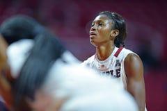 2014 basquetebol do NCAA - o basquetebol das mulheres Imagens de Stock
