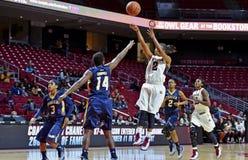 2014 basquetebol do NCAA - o basquetebol das mulheres Fotografia de Stock Royalty Free