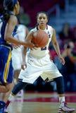 2014 basquetebol do NCAA - o basquetebol das mulheres Foto de Stock Royalty Free