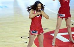 2014 basquetebol do NCAA - pelotão do espírito Fotografia de Stock Royalty Free