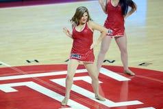 2014 basquetebol do NCAA - pelotão do espírito Fotografia de Stock