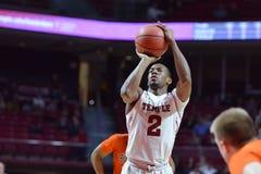 2015 basquetebol do NCAA - templo-Bucknell do Rd da LÊNDEA primeiro Fotos de Stock Royalty Free