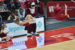 2015 basquetebol do NCAA - templo contra o estado de Delaware Foto de Stock Royalty Free