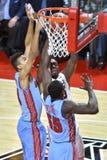 2015 basquetebol do NCAA - templo contra o estado de Delaware Fotos de Stock