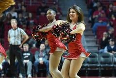 2015 basquetebol do NCAA - templo contra o estado de Delaware Fotografia de Stock Royalty Free